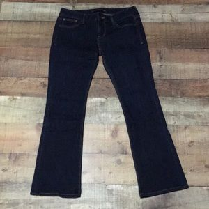 Barely Boot Low Rose Express Jeans
